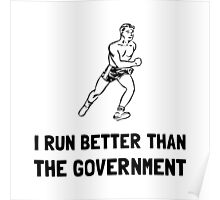 Run Better Government Poster