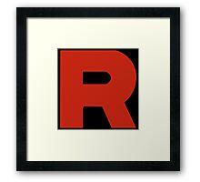 Team Rocket - PKMN Cosplay Framed Print