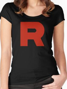 Team Rocket - PKMN Cosplay Women's Fitted Scoop T-Shirt