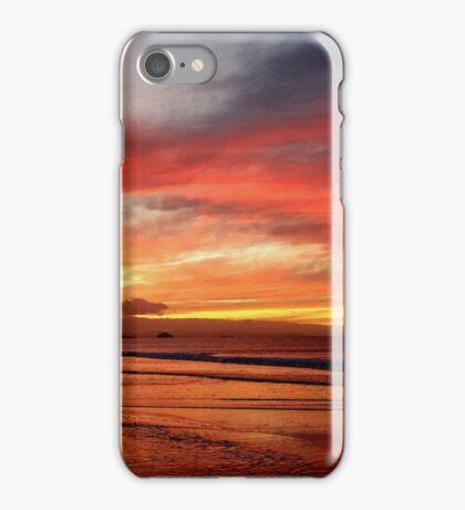 Papamoa Beach Sunset iPhone Case/Skin