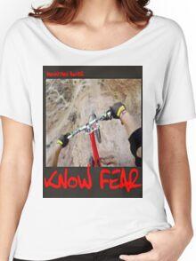 Mountain biker by KNOW FEAR WEAR Women's Relaxed Fit T-Shirt