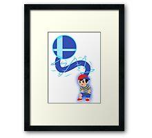 PK Smash Ness Framed Print