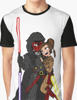 Star Wars: Revan and Bastila Graphic T-Shirt