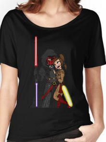 Star Wars: Revan and Bastila Women's Relaxed Fit T-Shirt