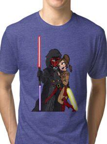 Star Wars: Revan and Bastila Tri-blend T-Shirt