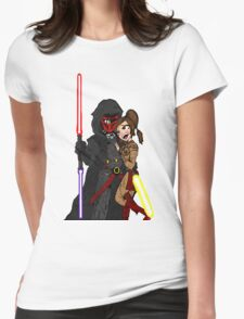 Star Wars: Revan and Bastila Womens Fitted T-Shirt