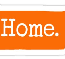 Tennessee Home TN Orange Sticker