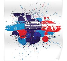 BMW Painted M Poster