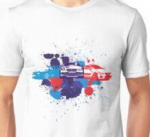 Splattered Cars Unisex T-Shirt