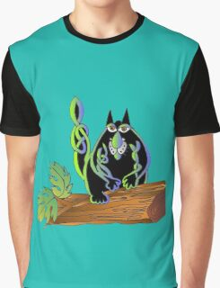 Celtic cat Graphic T-Shirt
