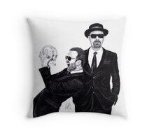 Aaron Paul & Bryan Cranston Throw Pillow