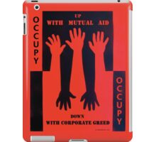 Up With Mutual Aid iPad Case/Skin