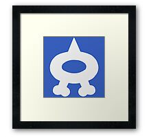 Team Aqua - PKMN Cosplay Framed Print