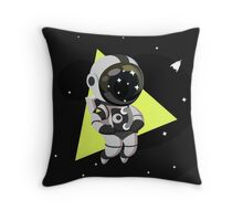 Cute Astronaut Character Throw Pillow