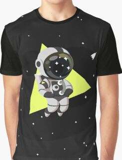 Cute Astronaut Character Graphic T-Shirt