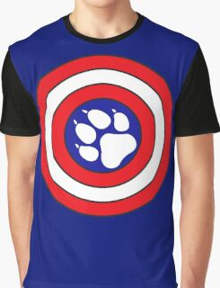 Captain Pupmerica Graphic T-Shirt
