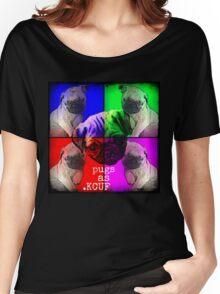 Pugs As KCUF Women's Relaxed Fit T-Shirt