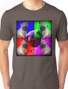 Pugs As KCUF Unisex T-Shirt