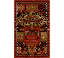 Jules Verne Around The World In Eighty Days Photographic Print