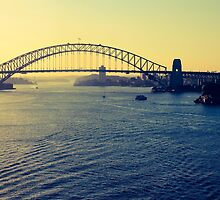 Harbour Bridge by Jeanette Varcoe.