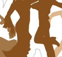 Flamenco Dancers Illustration  Sticker