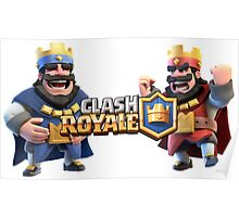 clash royale : battle of kings Poster