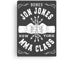 Bones Jones MMA Class Canvas Print
