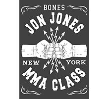 Bones Jones MMA Class Photographic Print