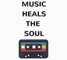 MUSIC HEALS THE SOUL Baby Tee
