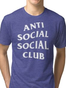 Anti Social Social Club - White Tri-blend T-Shirt