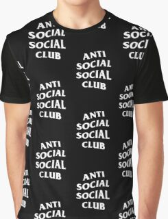 Anti Social Social Club - White Graphic T-Shirt