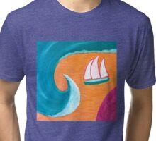 The Big Wave Tri-blend T-Shirt