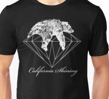 California shining white Unisex T-Shirt