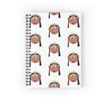 Princess Smiles Spiral Notebook