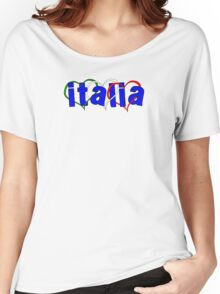 Italian Hearts Women's Relaxed Fit T-Shirt