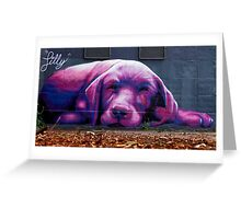 Pink Cooch Greeting Card