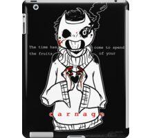 Carnage- OFF iPad Case/Skin