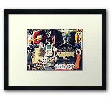 To The End. Framed Print