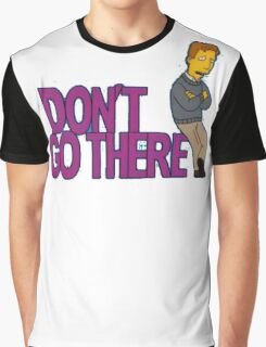 Simpsons - Dont Go There Graphic T-Shirt