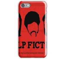 pulp fiction poster iPhone Case/Skin