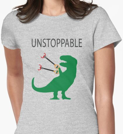 Unstoppable T.Rex Womens Fitted T-Shirt
