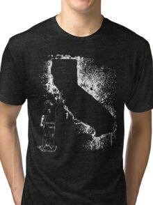 Cali tagger outline  Tri-blend T-Shirt