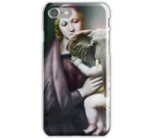 Madonna with Christ Child. iPhone Case/Skin