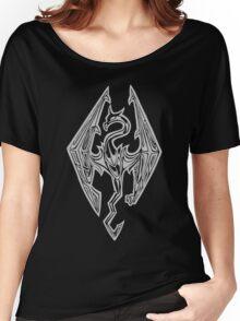 Dragon Symbol Skyrim Women's Relaxed Fit T-Shirt