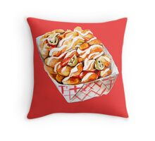 Vintage Sonic Extreme Tater Tots Throw Pillow