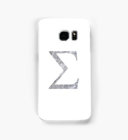 Ice Sigma Symbol Samsung Galaxy Case/Skin