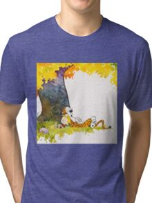 calvin and hobbes Tri-blend T-Shirt