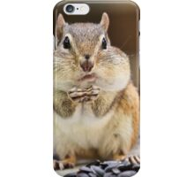 Fat Chipmunk Cheeks iPhone Case/Skin