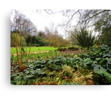 Harris Gardens Canvas Print