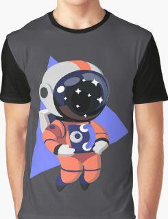 Cute Astronaut Character (Orange) Graphic T-Shirt